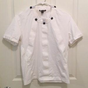 Louis Vuitton White Blouse / Shirt